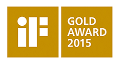 iF Gold Award 2015